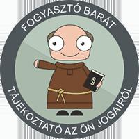 Fogyasztó barát weboldal logo